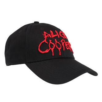 kšiltovka Alice Cooper - Dripping Logo - ROCK OFF, ROCK OFF, Alice Cooper