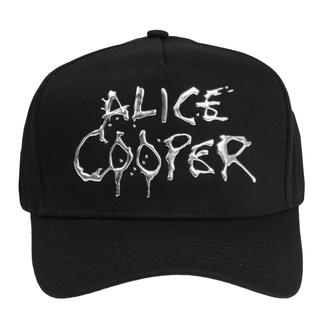 kšiltovka Alice Cooper - Sonic Sliver Dripping Logo - ROCK OFF, ROCK OFF, Alice Cooper