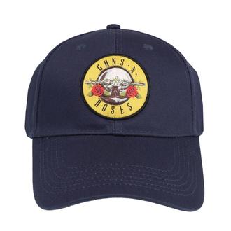kšiltovka Guns N' Roses - Circle Logo - NAVY - ROCK OFF, ROCK OFF, Guns N' Roses