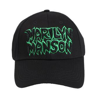 kšiltovka Marilyn Manson - Logo - ROCK OFF, ROCK OFF, Marilyn Manson