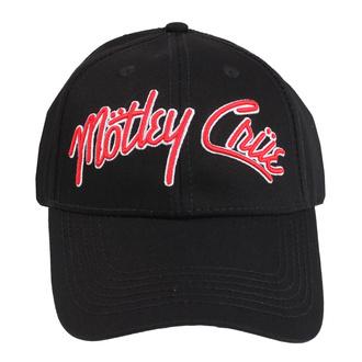 kšiltovka Mötley Crüe - Logo - ROCK OFF, ROCK OFF, Mötley Crüe