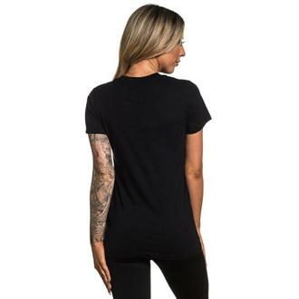 tričko dámské SULLEN - READER - BLACK - SCW2444_BK