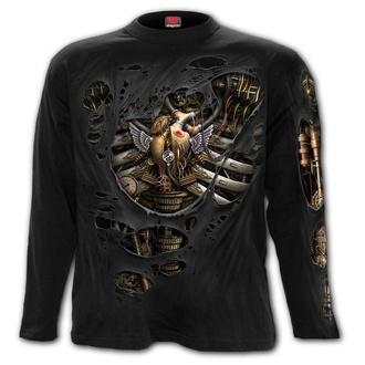 tričko pánské s dlouhým rukávem SPIRAL - STEAM PUNK RIPPED, SPIRAL