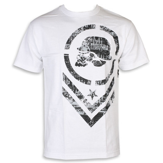 tričko pánské METAL MULISHA - TATTER - WHT - MM1951813.01_WHT