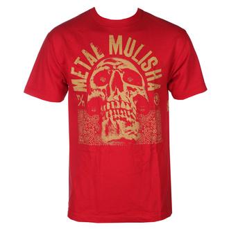 tričko pánské METAL MULISHA - REP - RED - MM1951804.01_RED