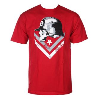 tričko pánské METAL MULISHA - SHINE - RED - MM1951805.01_RED