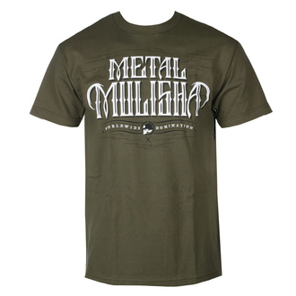 tričko pánské METAL MULISHA - GAUNTLET - MGN - MM1951809.01_MGN
