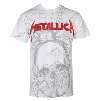 tričko pánské Metallica - Spider -  White - RTMTLTSWSPI