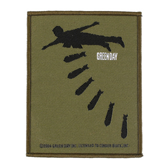 nášivka Green Day - Bombs - RAZAMATAZ, RAZAMATAZ, Green Day