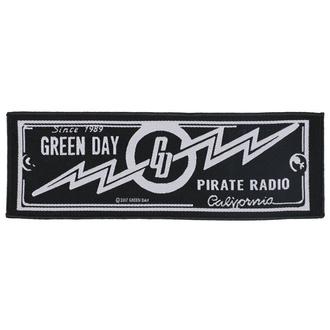 nášivka Green Day - Pirate Radio - RAZAMATAZ, RAZAMATAZ, Green Day