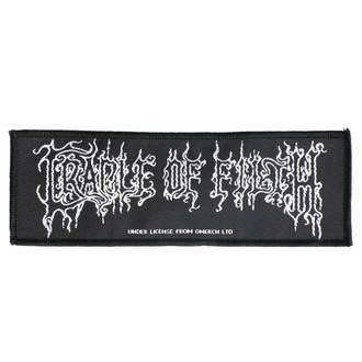 nášivka Cradle Of Filth - Logo - RAZAMATAZ, RAZAMATAZ, Cradle of Filth