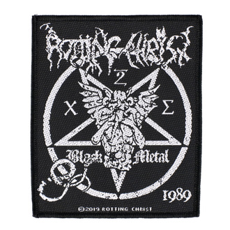 nášivka Rotting Christ - Black Metal - RAZAMATAZ - SP3043