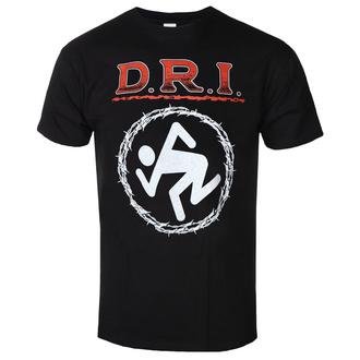 tričko pánské D.R.I. - BARBED WIRE - PLASTIC HEAD - PH11313