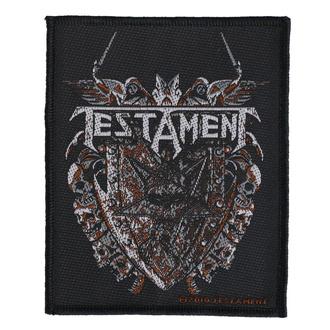 nášivka Testament - Shield - RAZAMATAZ, RAZAMATAZ, Testament
