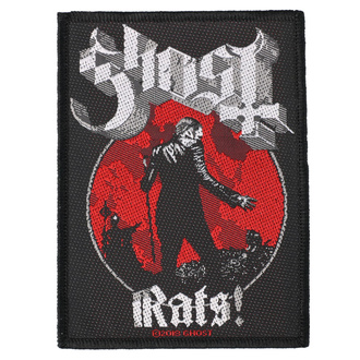 nášivka Ghost - Rats - RAZAMATAZ, RAZAMATAZ, Ghost