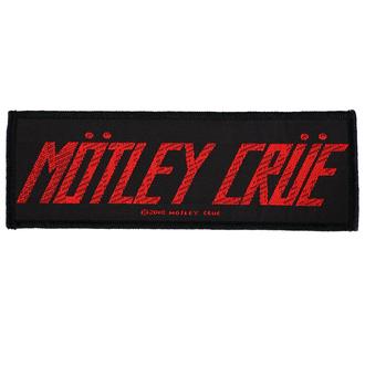 nášivka Mötley Crüe - Logo - RAZAMATAZ, RAZAMATAZ, Mötley Crüe