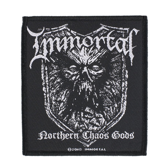 nášivka Immortal - Northern Chaos Gods - RAZAMATAZ, RAZAMATAZ, Immortal
