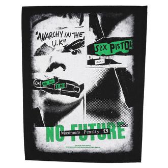 nášivka velká Sex Pistols - No Future - RAZAMATAZ, RAZAMATAZ, Sex Pistols