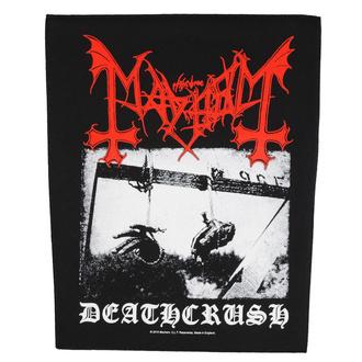 nášivka velká Mayhem - Deathcrush - RAZAMATAZ - BP1097