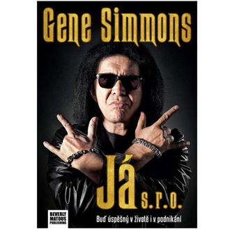 kniha Já s.r.o. - Gene Simmons - Kiss - VOL038