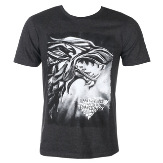 tričko pánské Game of thrones - I AM THE SWORD - ANTHRACITE MELANGE - LEGEND - MEGOFTDTS016