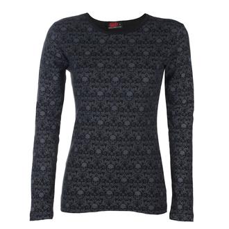 tričko dámské s dlouhým rukávem SPIRAL - GOTHIC ELEGANCE - Scroll Impression - P001F473