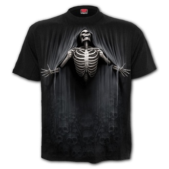 tričko pánské SPIRAL - LIBERATED - Black - T174M101