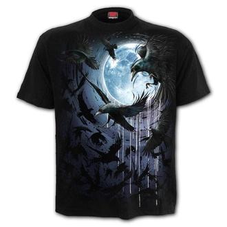 tričko pánské SPIRAL - CROW MOON - T175M101