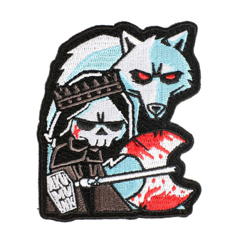 nažehlovačka (nášivka) AKUMU INK - Conquer Thy Enemy - 15P09
