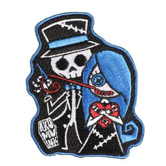 nažehlovačka (nášivka) AKUMU INK - Stitch Me a Smile, Akumu Ink
