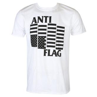 tričko pánské Anti Flag - Black Flag - White - KINGS ROAD, KINGS ROAD, Anti-Flag
