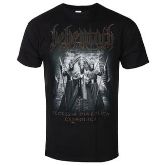 tričko pánské Behemoth - Catholica - Black - KINGS ROAD, KINGS ROAD, Behemoth