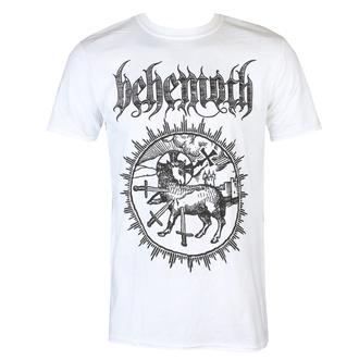 tričko pánské Behemoth - Lamb Sigil - White - KINGS ROAD, KINGS ROAD, Behemoth