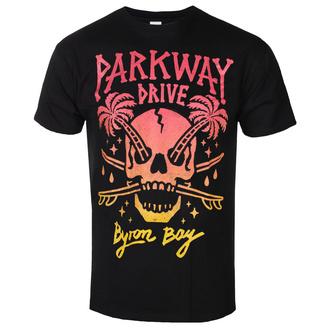 tričko pánské Parkway Drive - Skull Palms - Black - KINGS ROAD, KINGS ROAD, Parkway Drive