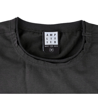 tričko pánské PRINCE - SIGN O THE TIMES - CHARCOAL - AMPLIFIED, AMPLIFIED