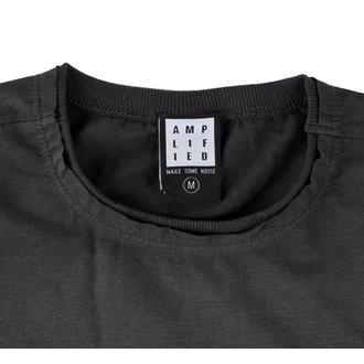 tričko pánské DEF LEPPARD - PYROMANIA - CHARCOAL - AMPLIFIED, AMPLIFIED, Def Leppard
