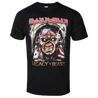 tričko pánské Iron Maiden - Legacy - ROCK OFF, ROCK OFF, Iron Maiden