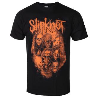 tričko pánské Slipknot - WANYK Orange - ROCK OFF, ROCK OFF, Slipknot