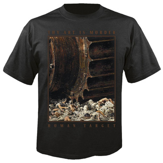 tričko pánské THY ART IS MURDER - Human target - NUCLEAR BLAST - 27957_TS