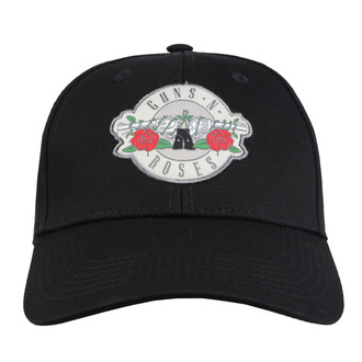 kšiltovka Guns N' Roses - Silver Circle Logo - ROCK OFF, ROCK OFF, Guns N' Roses
