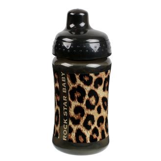 dětská láhev ROCK STAR BABY - LEOPARD - 90805