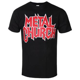 tričko pánské METAL CHURCH - LOGO - PLASTIC HEAD - PH11497