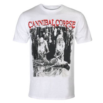 tričko pánské CANNIBAL CORPSE - BUTCHERED AT BIRTH - WHITE - PLASTIC HEAD, PLASTIC HEAD, Cannibal Corpse