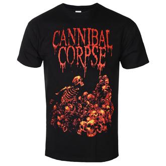 tričko pánské CANNIBAL CORPSE - PILE OF SKULLS - PLASTIC HEAD - PH9525