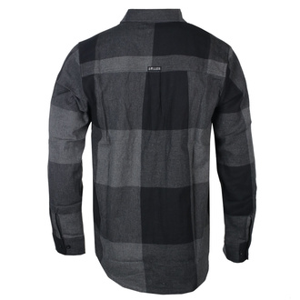 košile pánská SULLEN - WONDERLAND FLANNEL - BLACK/GREY - SCM2628_BKGY