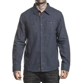 košile pánská SULLEN - COPIC FLANNEL - GREY - SCM2473_GY