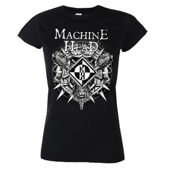 tričko dámské Machine Head - Bloodstone - Black - RTMHGSBBLO