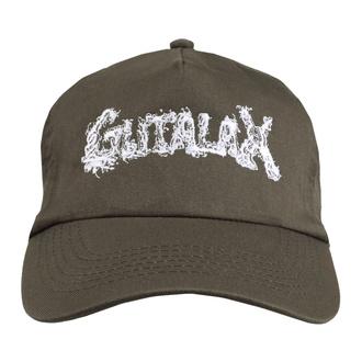 kšiltovka GUTALAX - brown- white Logo - ROTTEN ROLL REX, ROTTEN ROLL REX, Gutalax