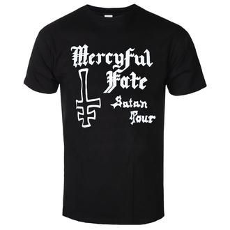 tričko pánské MERCYFUL FATE - SATAN TOUR 1982 - PLASTIC HEAD, PLASTIC HEAD, Mercyful Fate