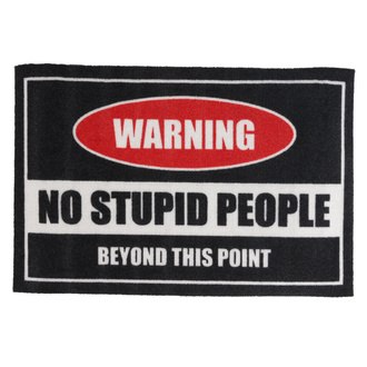 rohožka Warning! No Stupid People - Rockbites - 100982